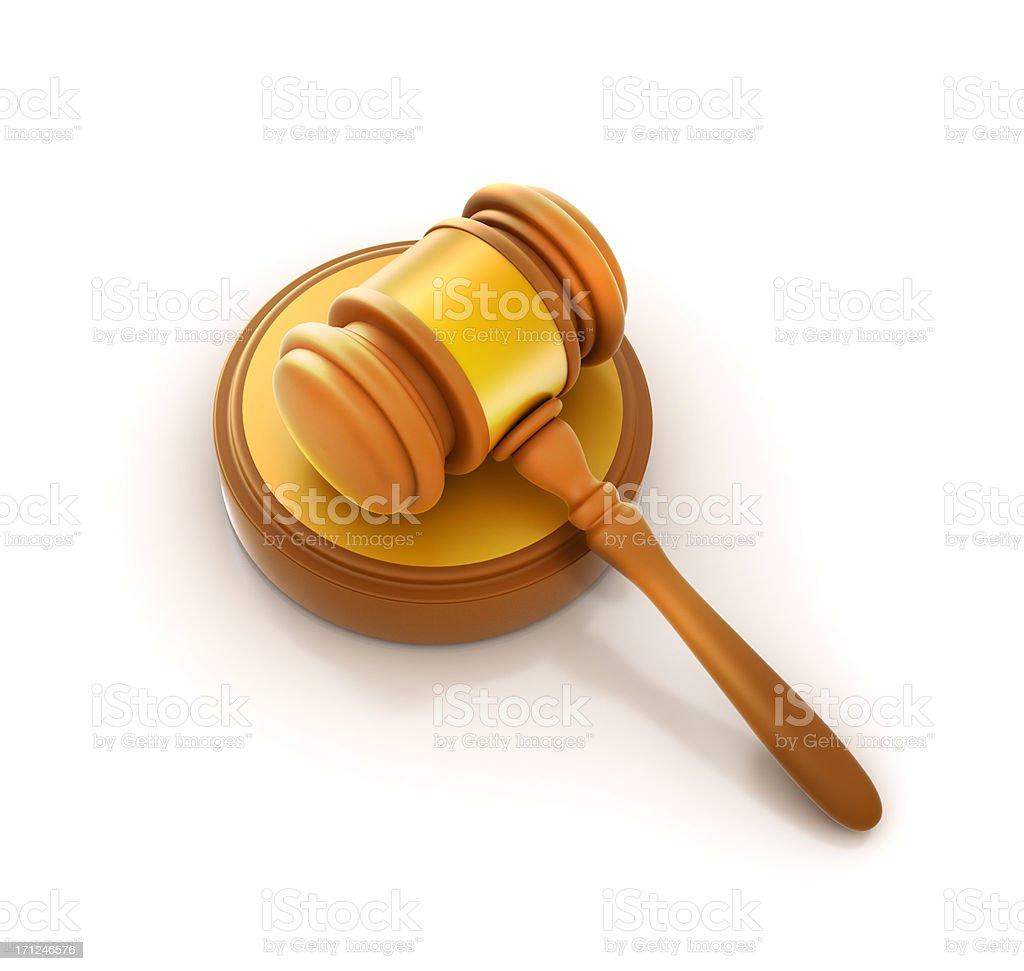 Judge law Gavel icon royalty-free stock photo