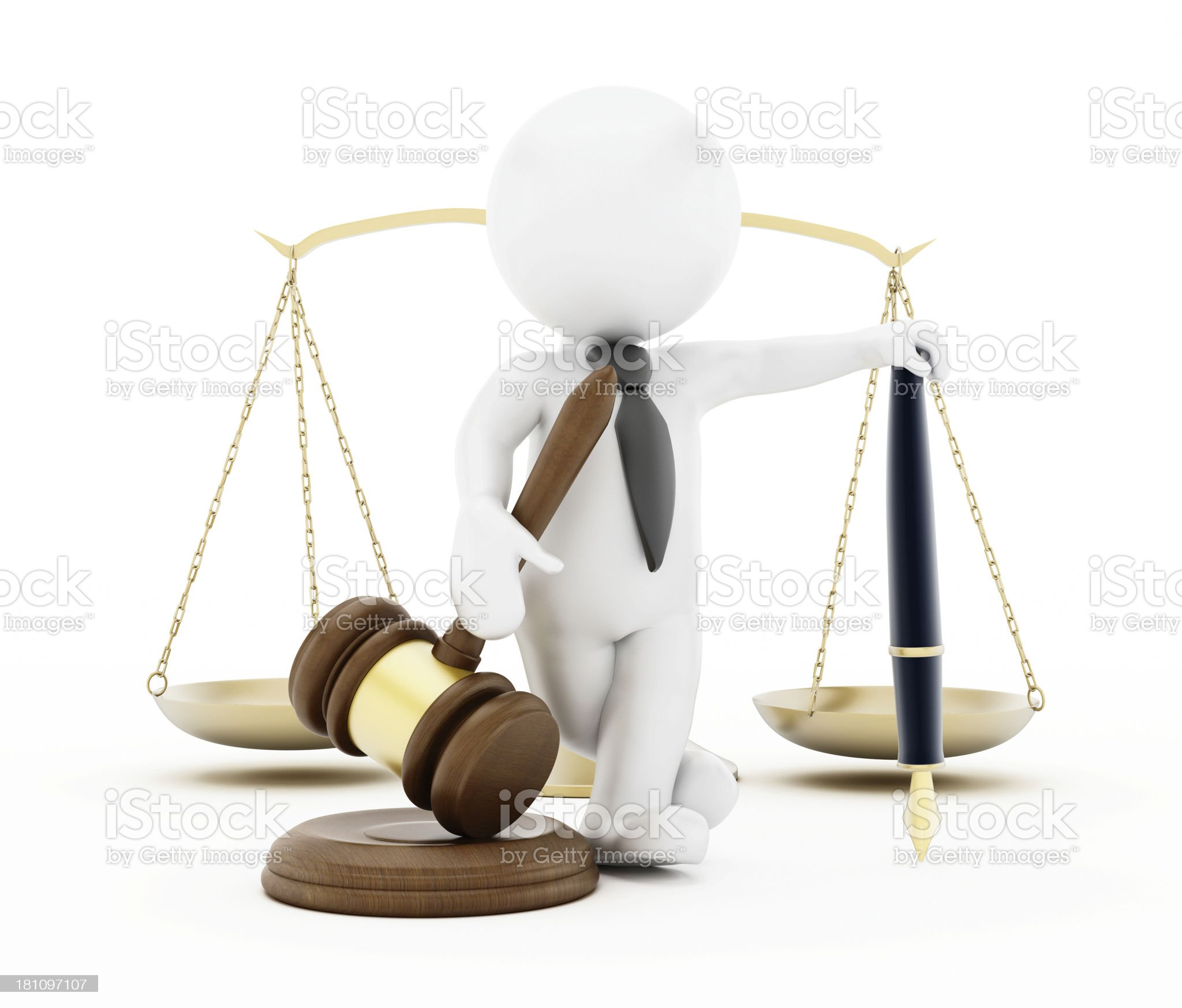 Judge royalty-free stock photo