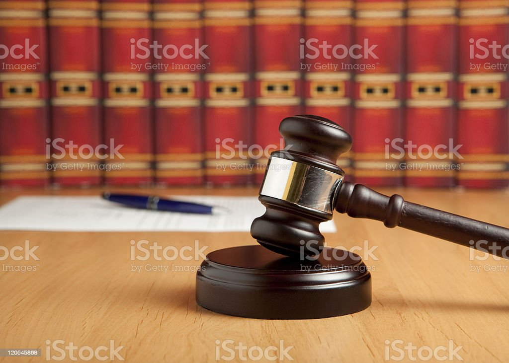 Judgement royalty-free stock photo