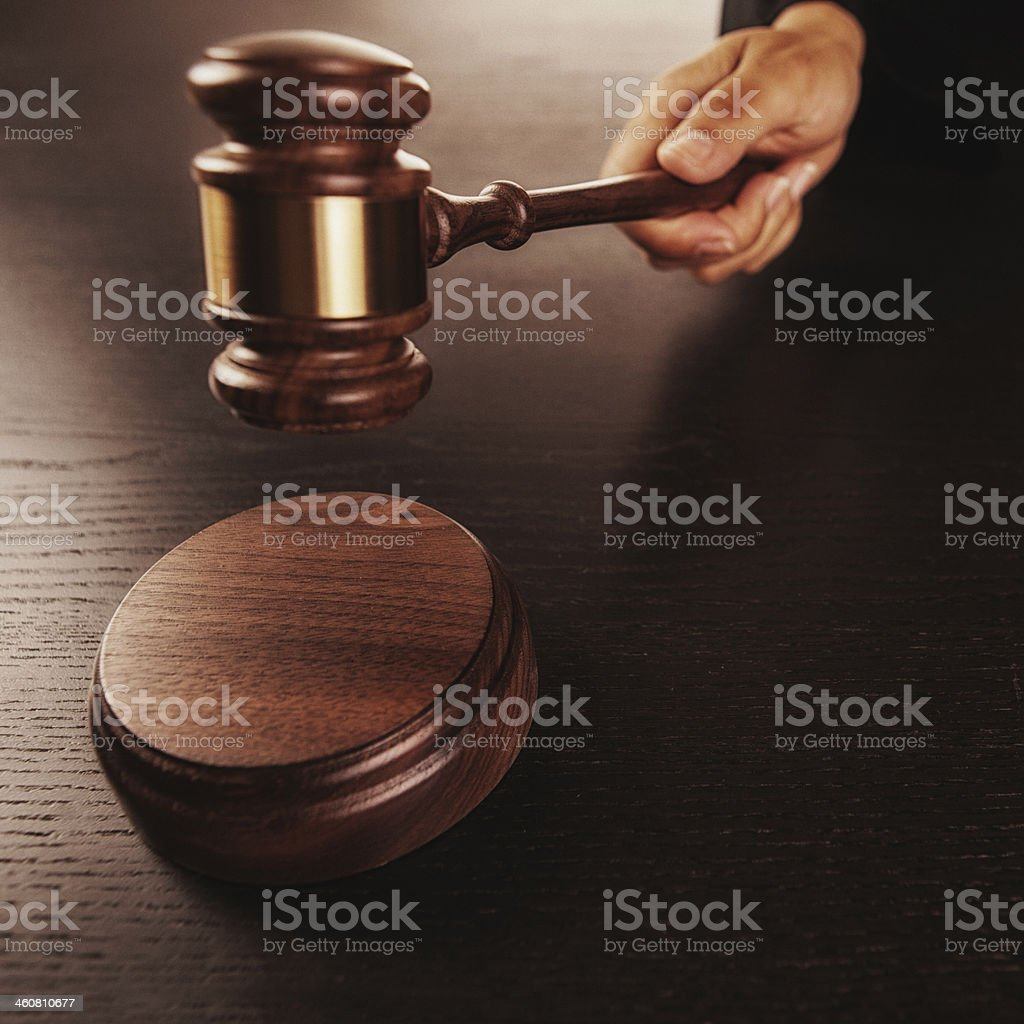 judgement stock photo