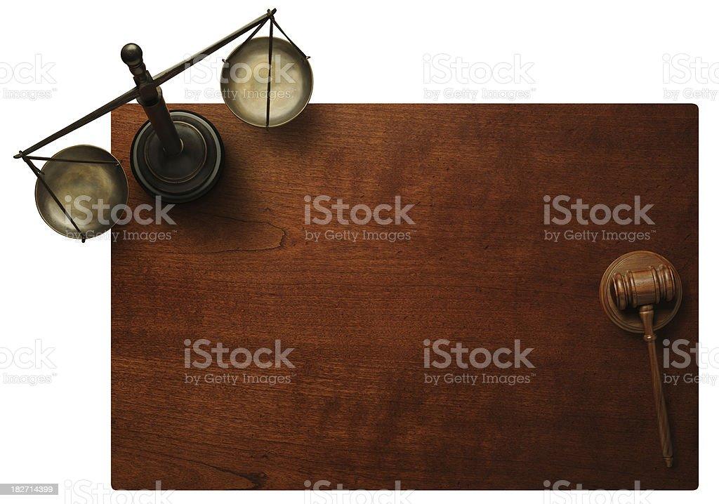 Judges Desktop stock photo