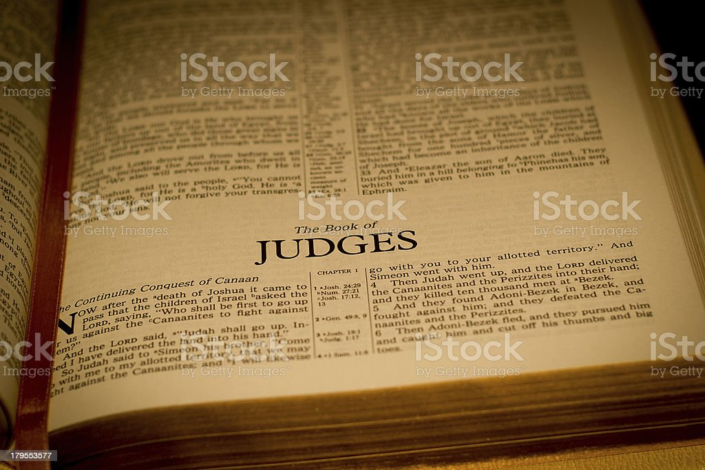 Judges stock photo