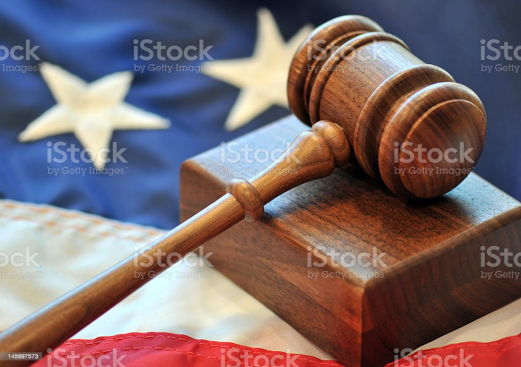 Judicial Branch Of Government stock photo