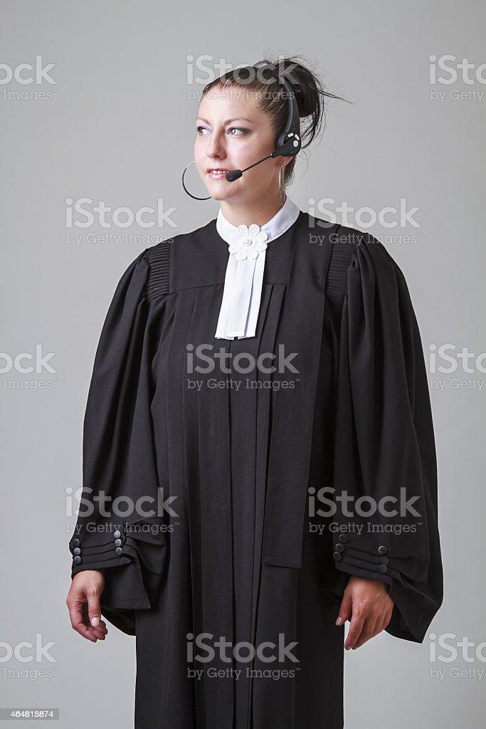 Judicial hotline stock photo