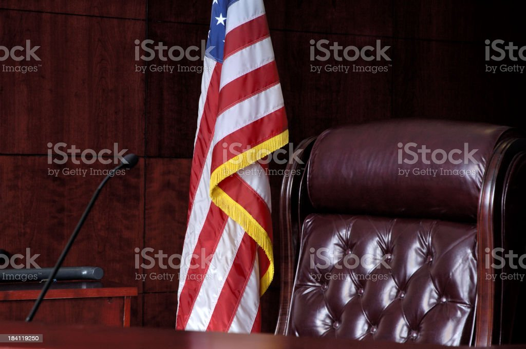 U.S. Judicial System royalty-free stock photo