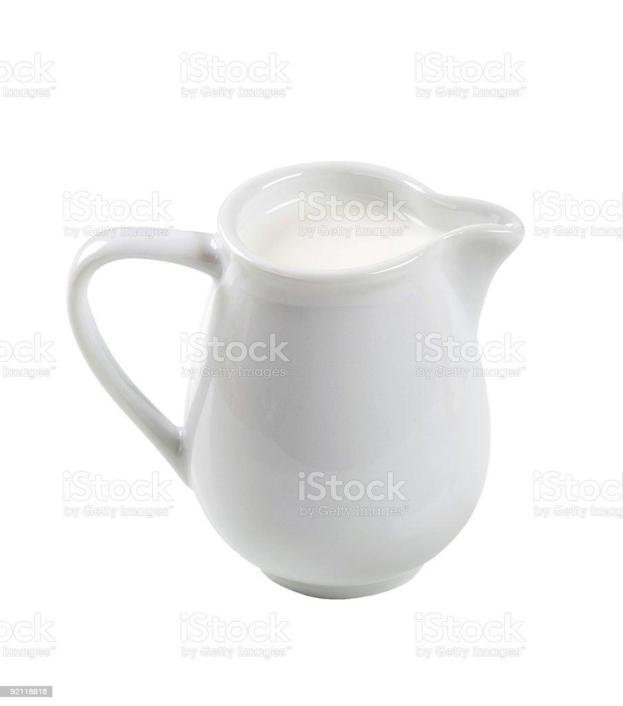 Кувшин свежего молока Стоковые фото Стоковая фотография