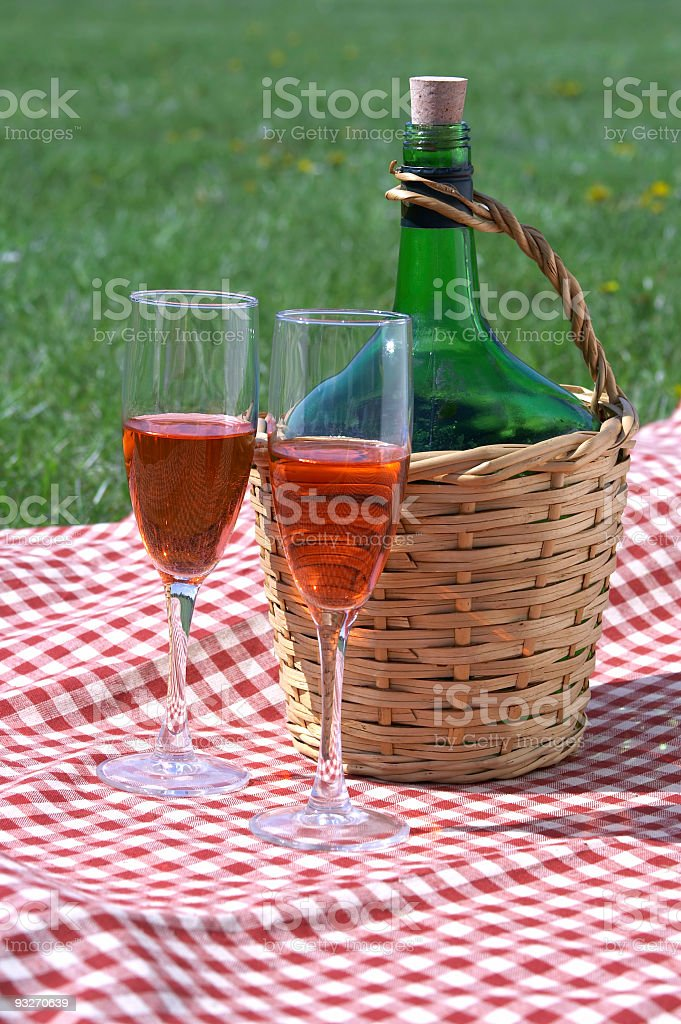 Jug of Wine royalty-free stock photo