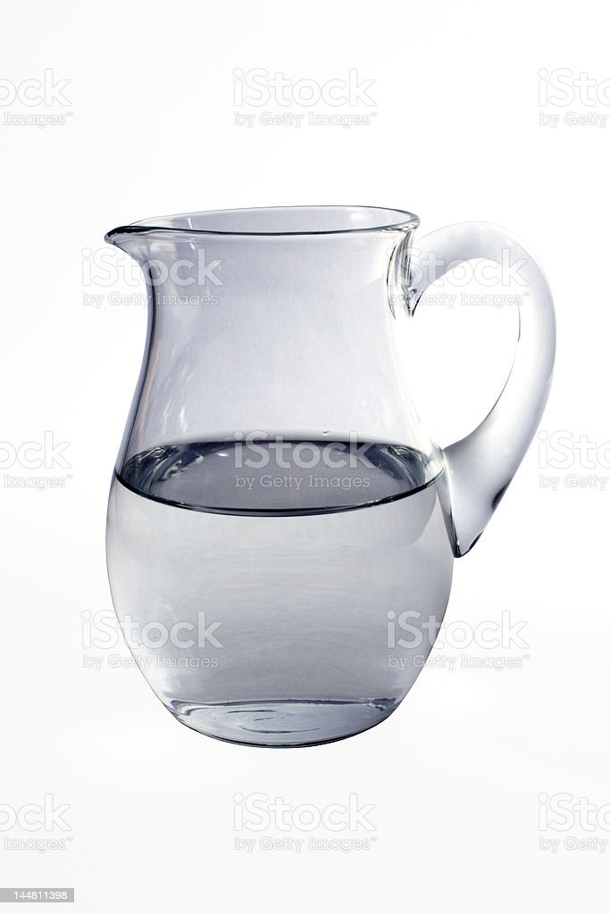 Jug with water royalty-free stock photo