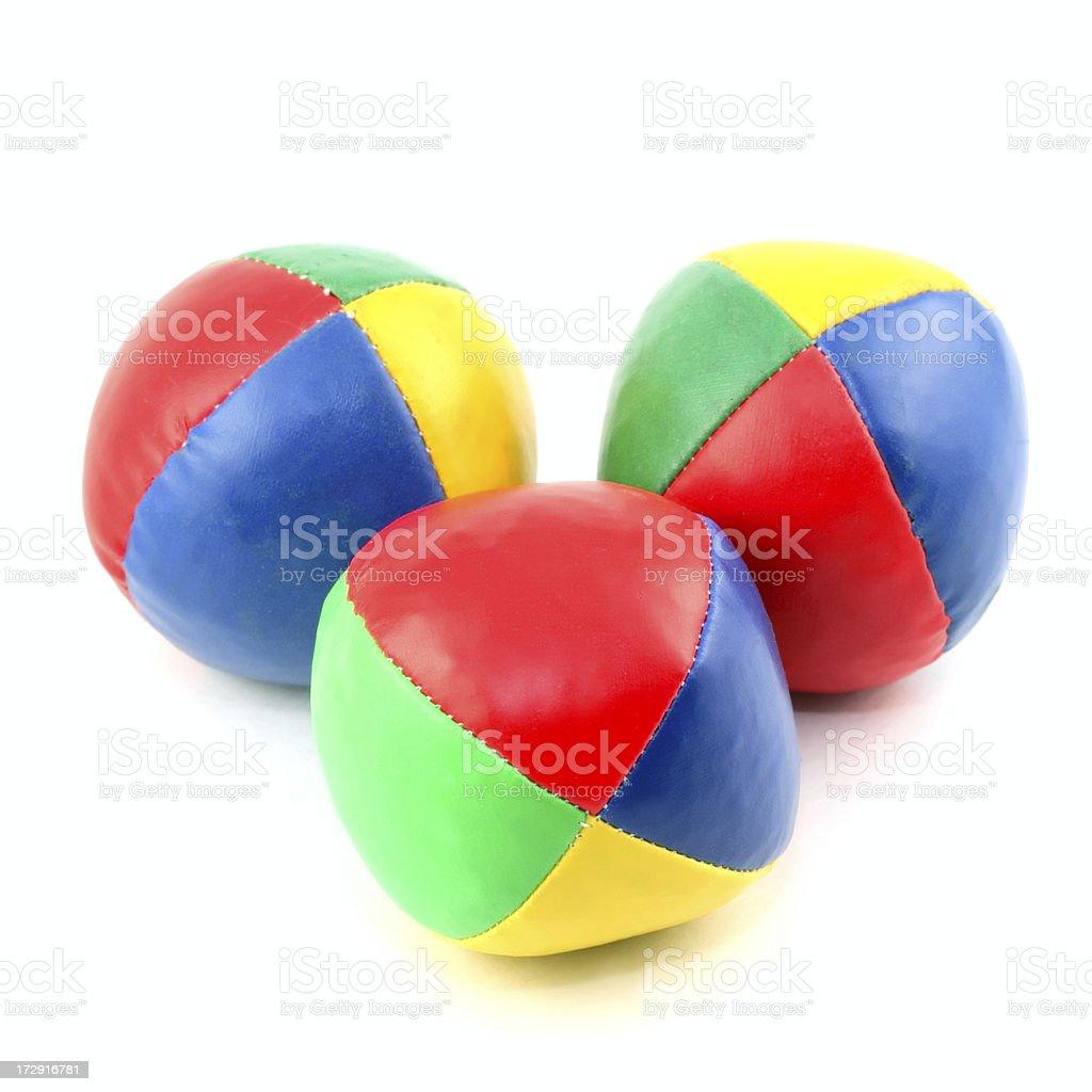Juggling Balls royalty-free stock photo