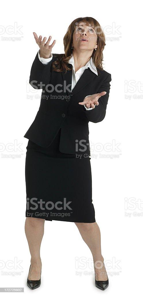 Juggling royalty-free stock photo