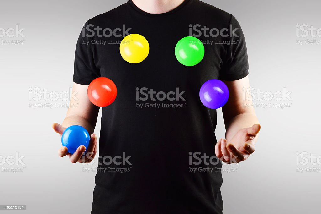 Juggling (Click for more) stock photo