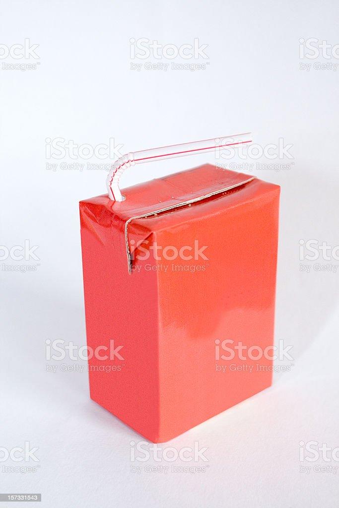 Juice box stock photo
