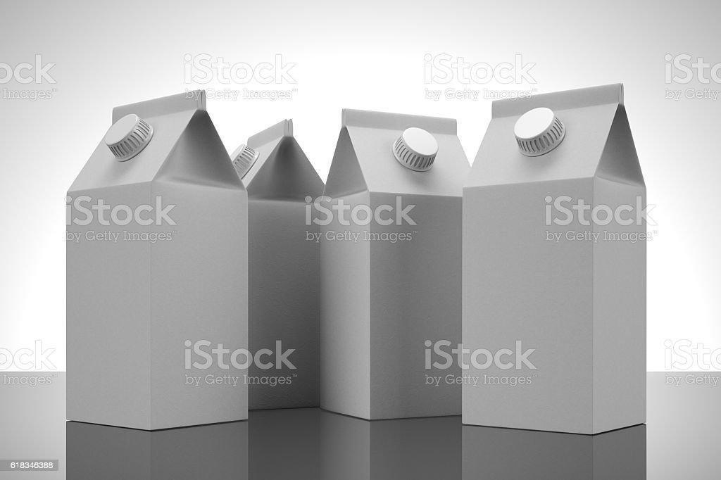 Juice Boxes stock photo