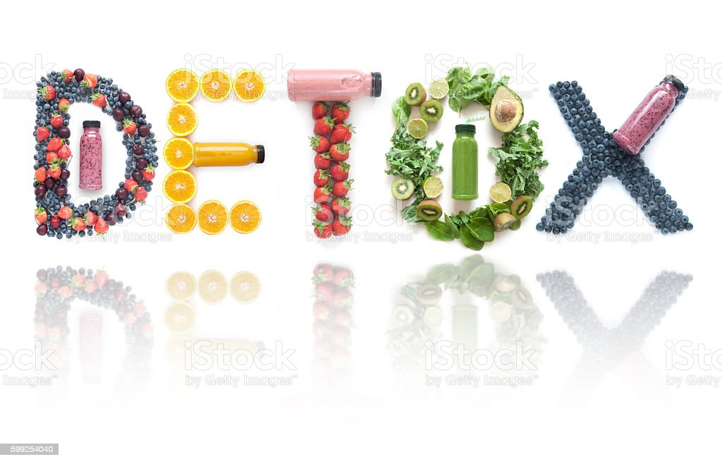 Juice detox stock photo