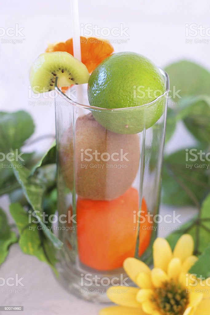 Juice ingredients royalty-free stock photo