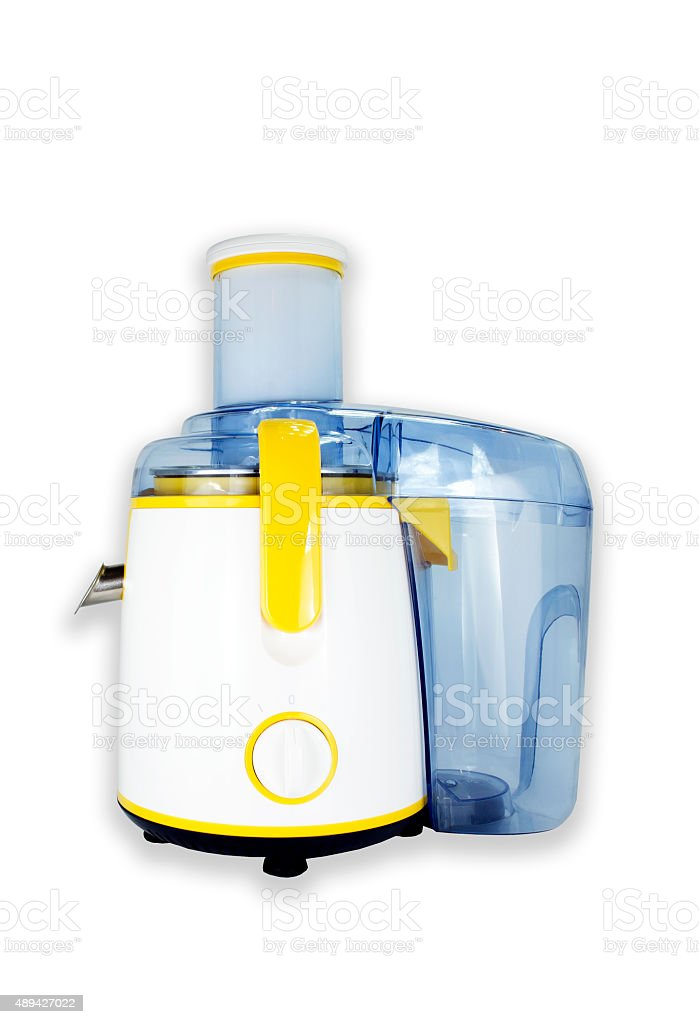 Juicer isolated royalty-free stock photo