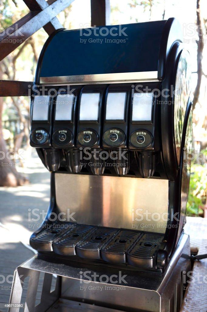 Juices Dispenser stock photo
