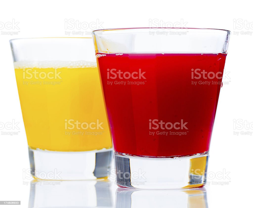 Juices royalty-free stock photo