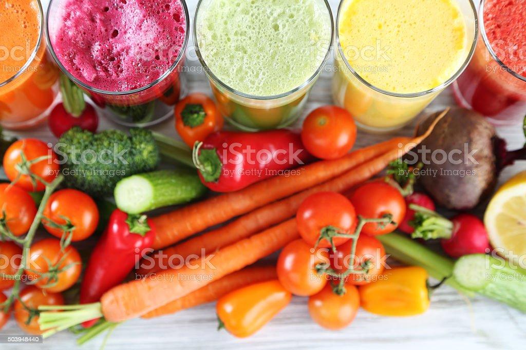 juices stock photo