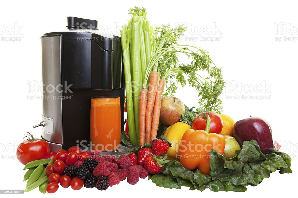 Juicing stock photo
