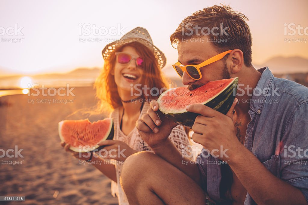 Juicy and sweet summer stock photo