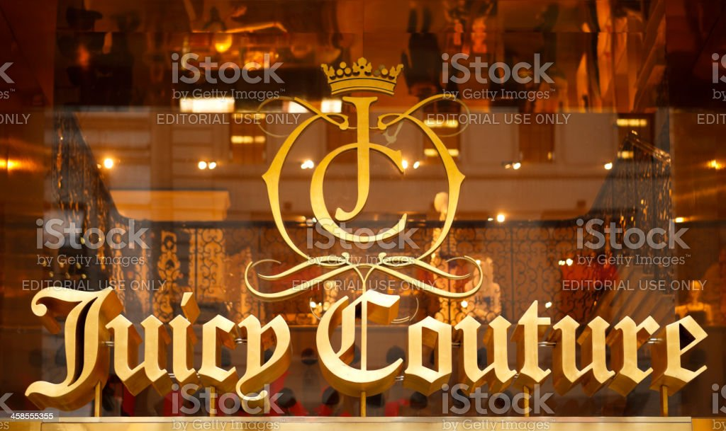 Juicy Couture stock photo