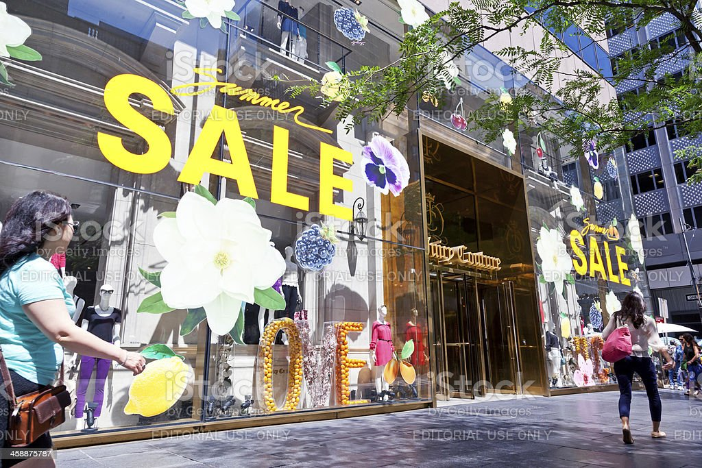 Juicy Couture store NYC stock photo