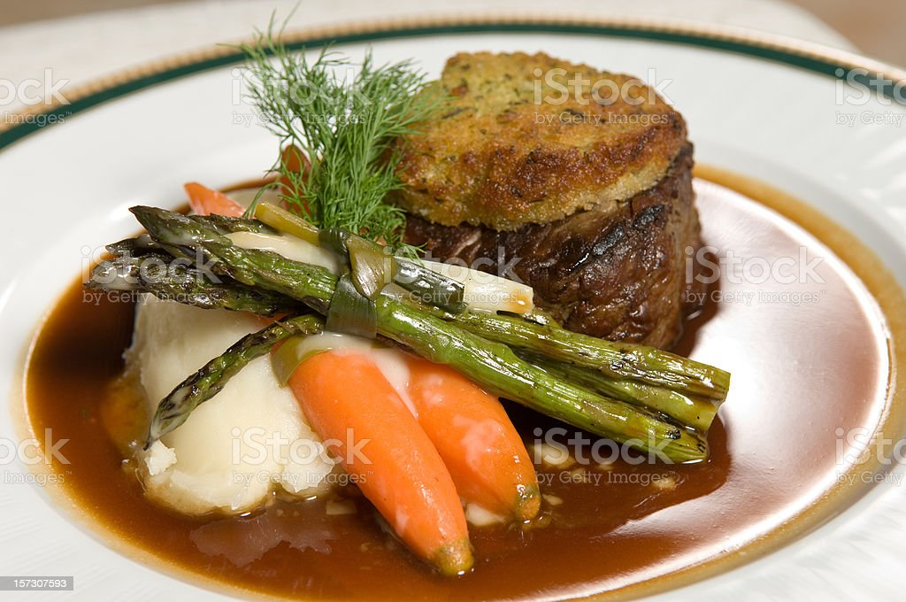 juicy fancy filet royalty-free stock photo