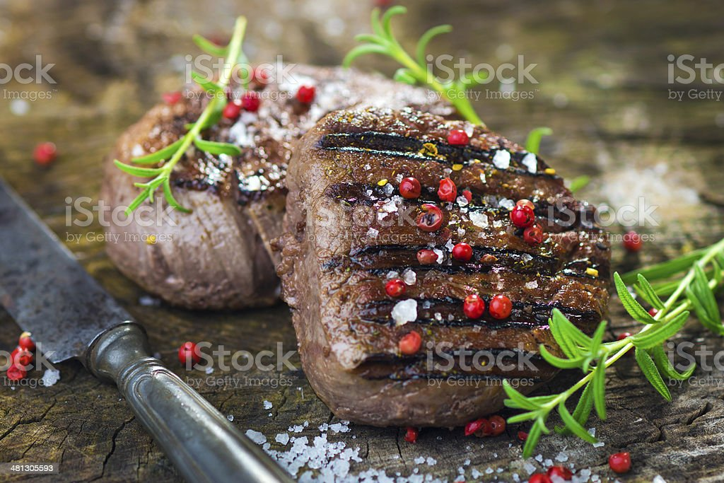 Juicy Fillet Steak stock photo
