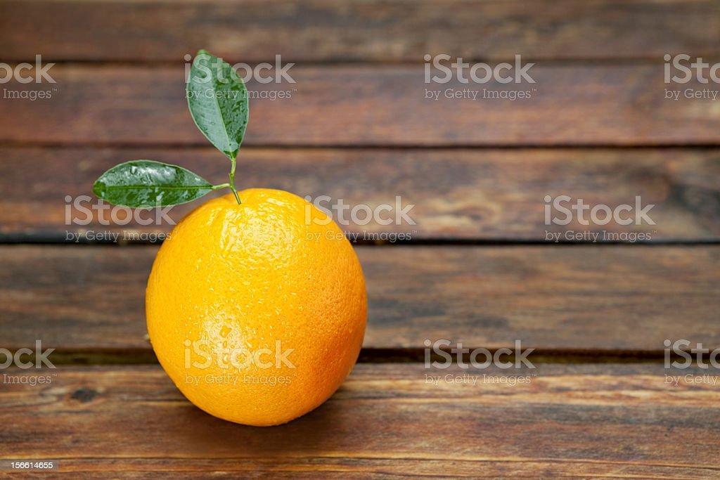 Juicy Fresh Orange royalty-free stock photo