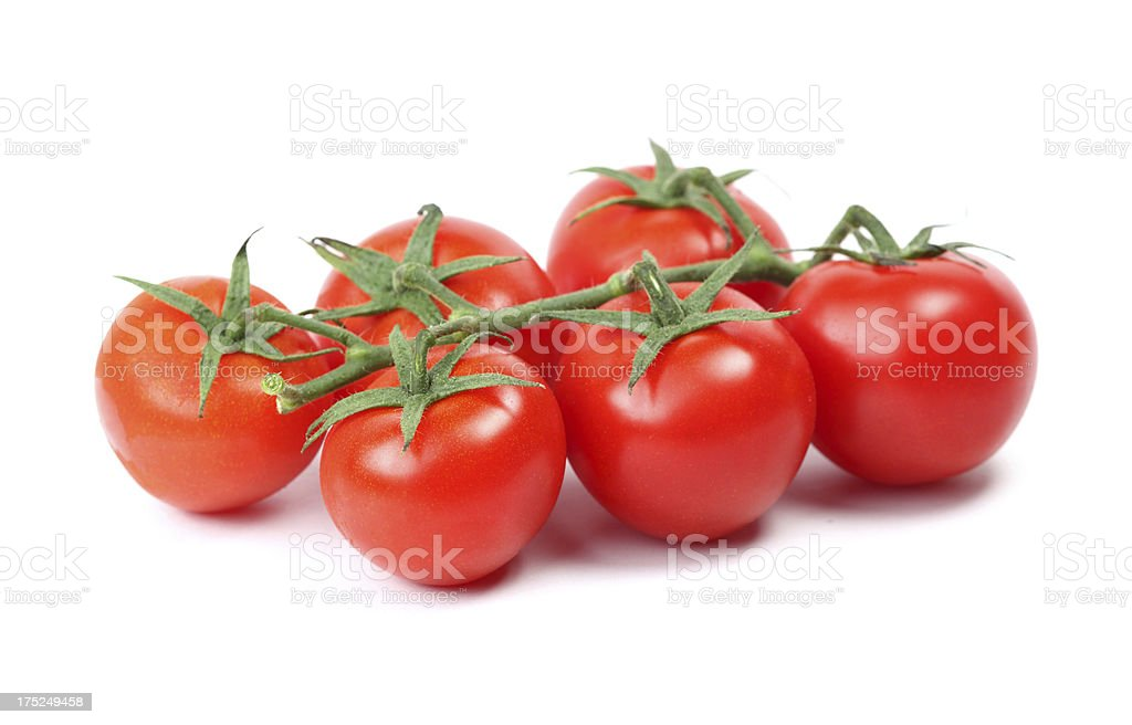 Juicy Isolated Tomato stock photo