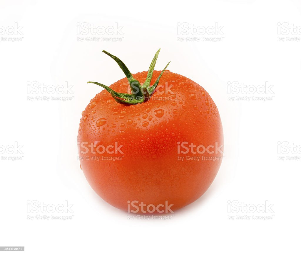 Juicy Isolated Tomato royalty-free stock photo