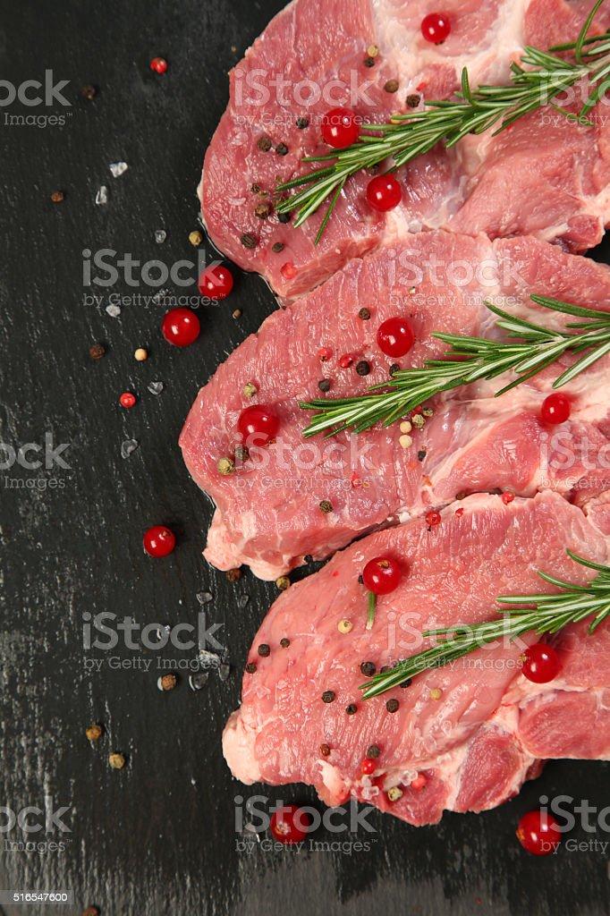 juicy meat stock photo