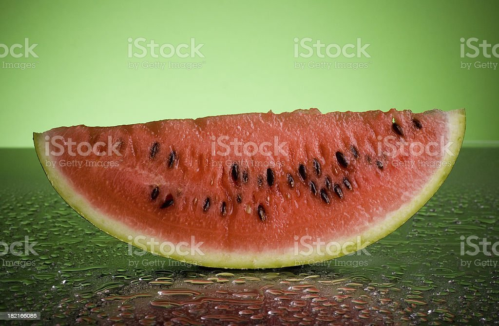 Juicy melon royalty-free stock photo