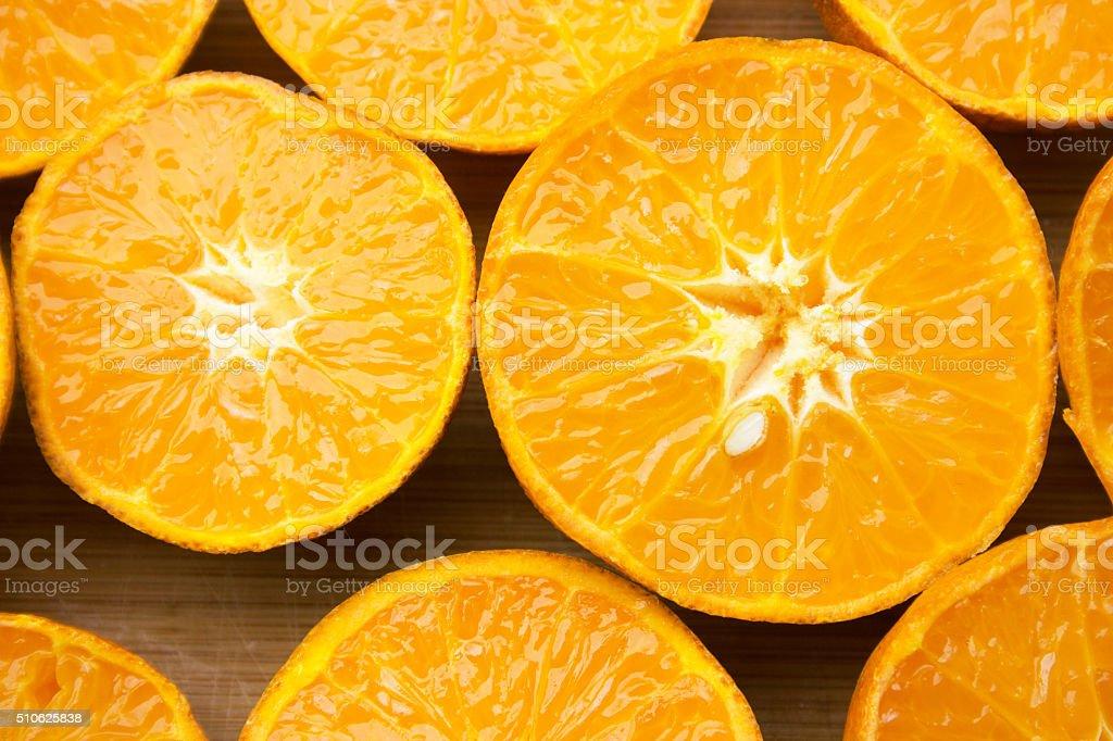 Juicy Orange Slices stock photo
