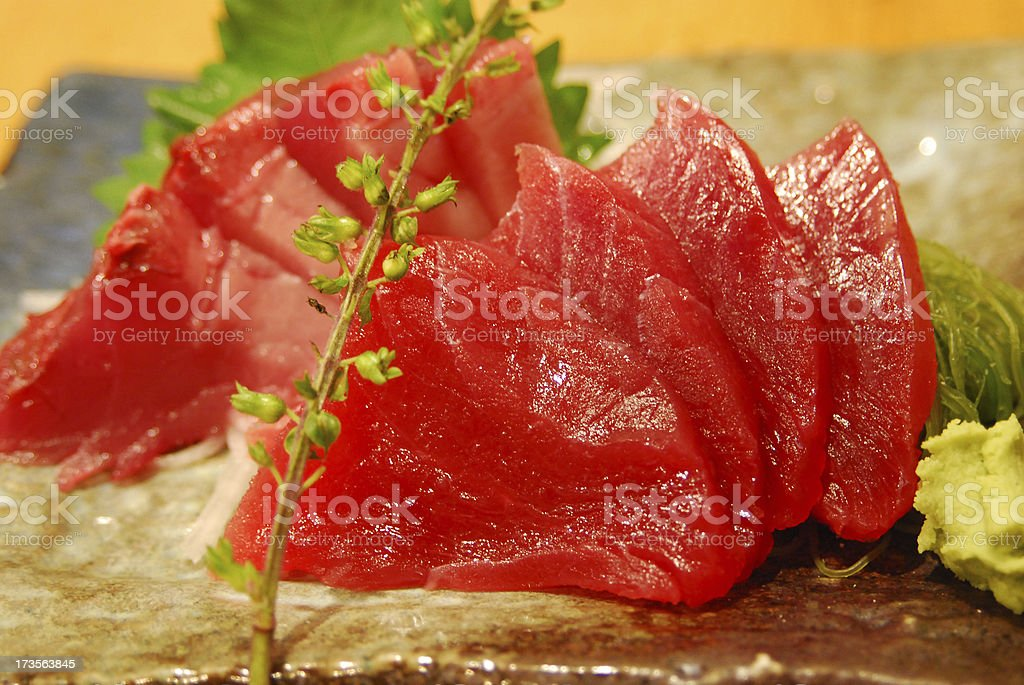 Juicy Sashimi royalty-free stock photo