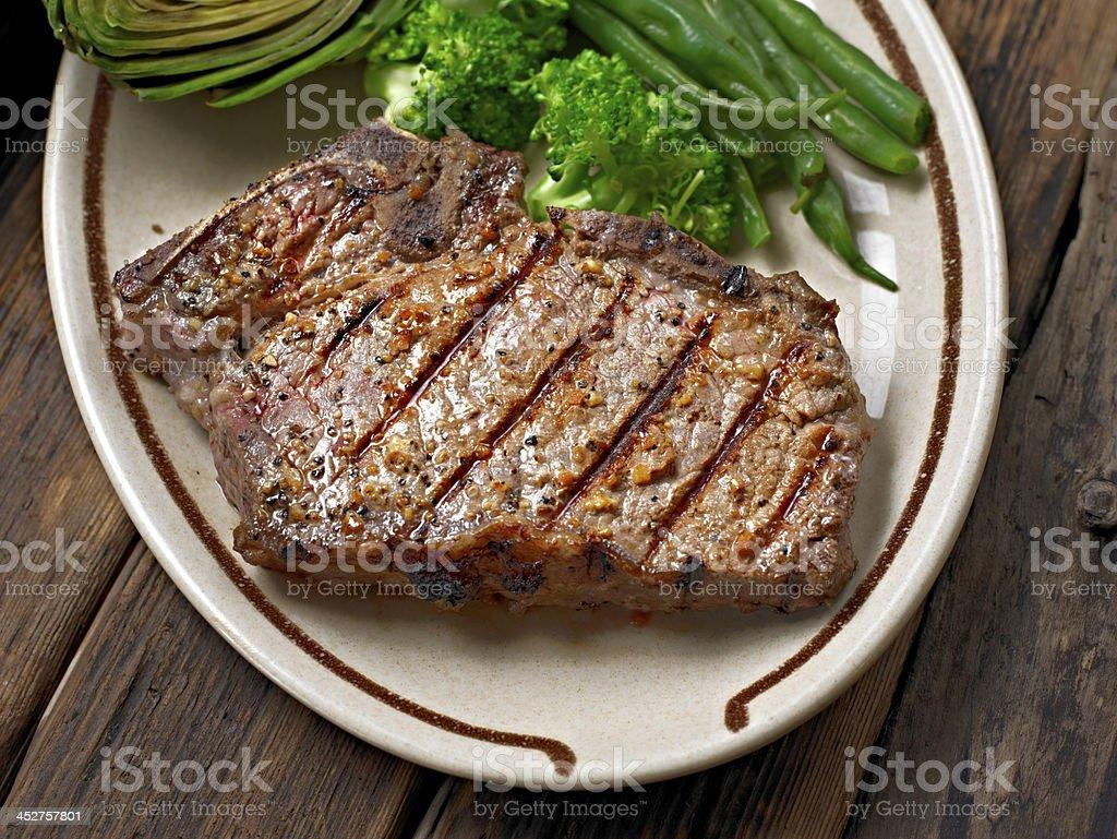 Juicy Steak royalty-free stock photo