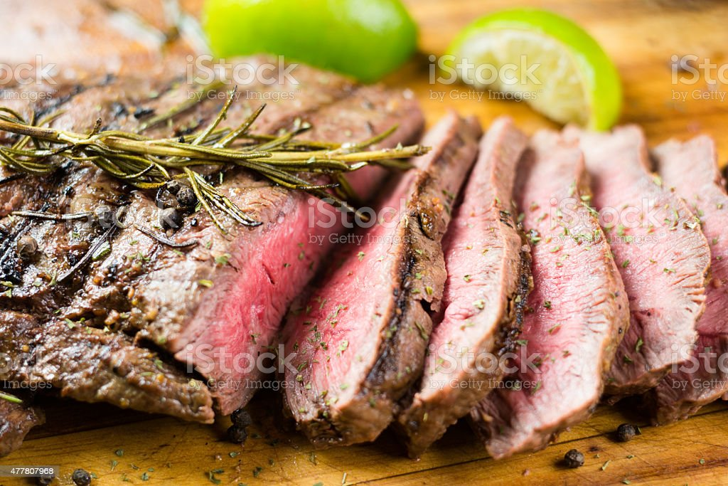 Juicy Steak stock photo