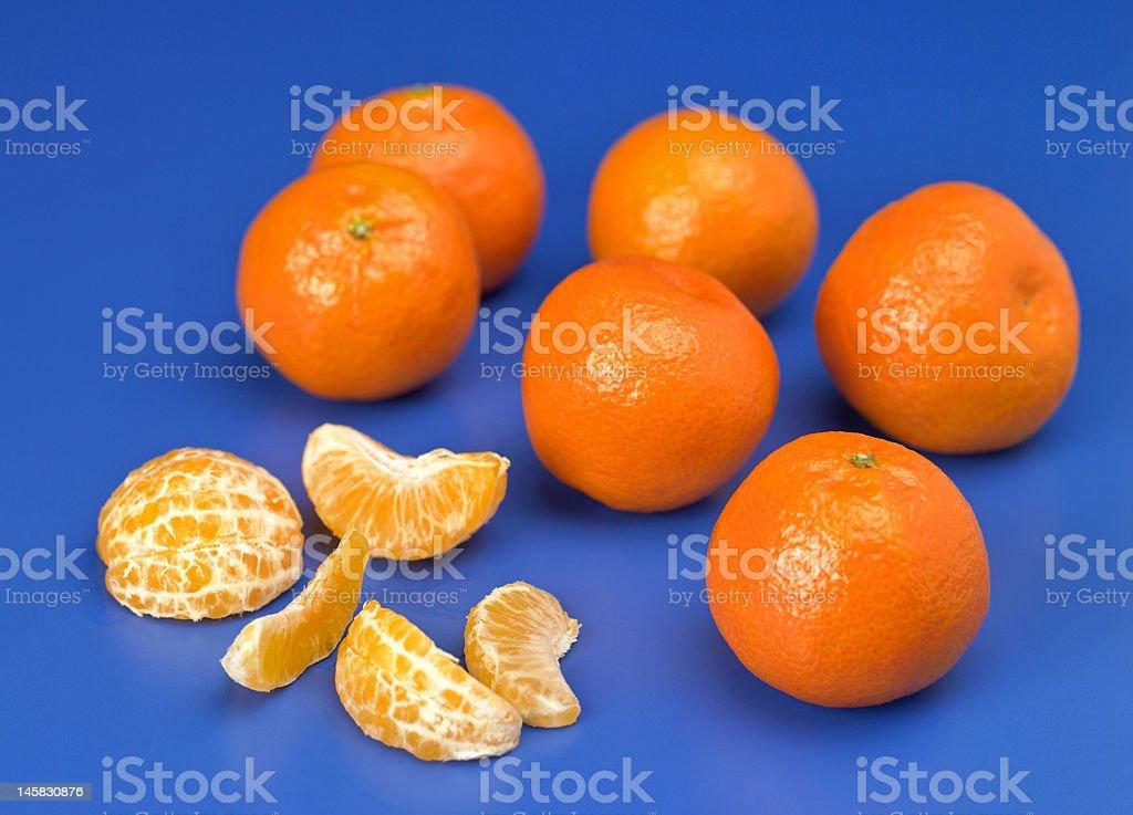 Juicy Tangerines stock photo