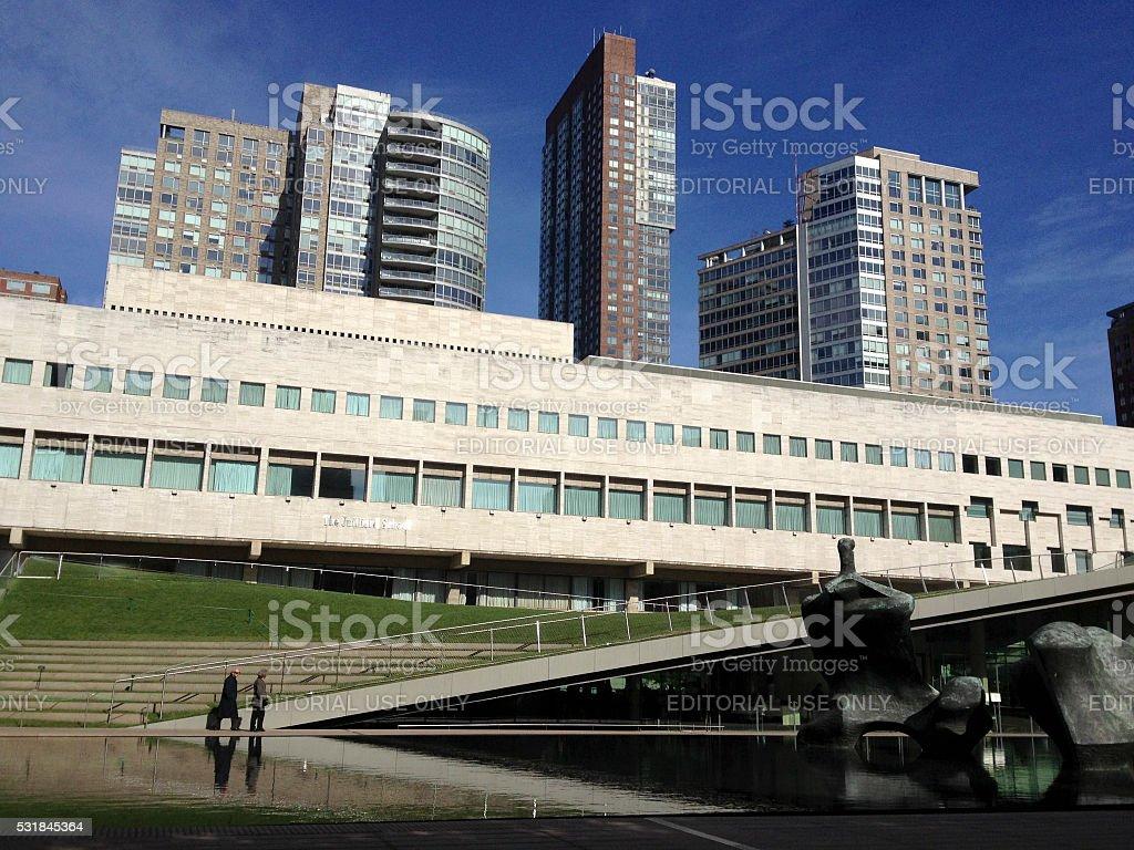 Juilliard School of Music in New York City stock photo