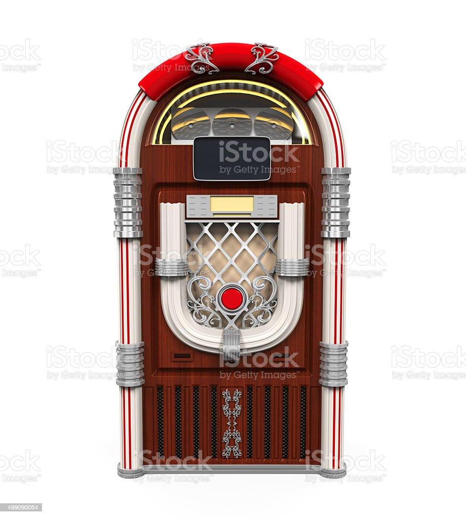 Juke Box Radio stock photo