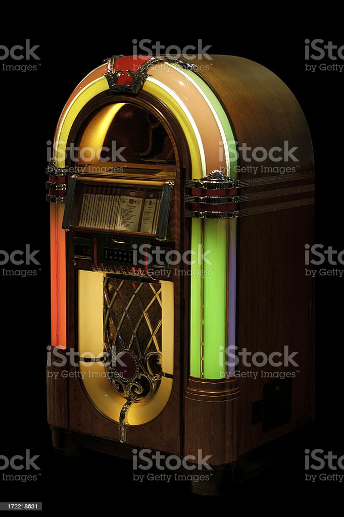 jukebox stock photo