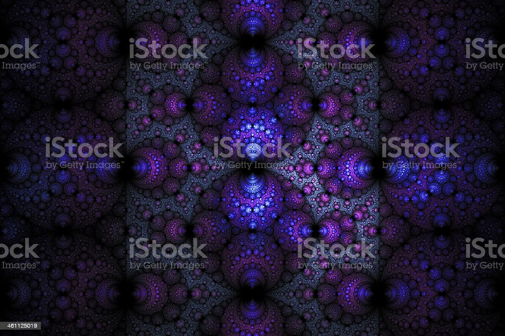 Julia base fractal royalty-free stock vector art