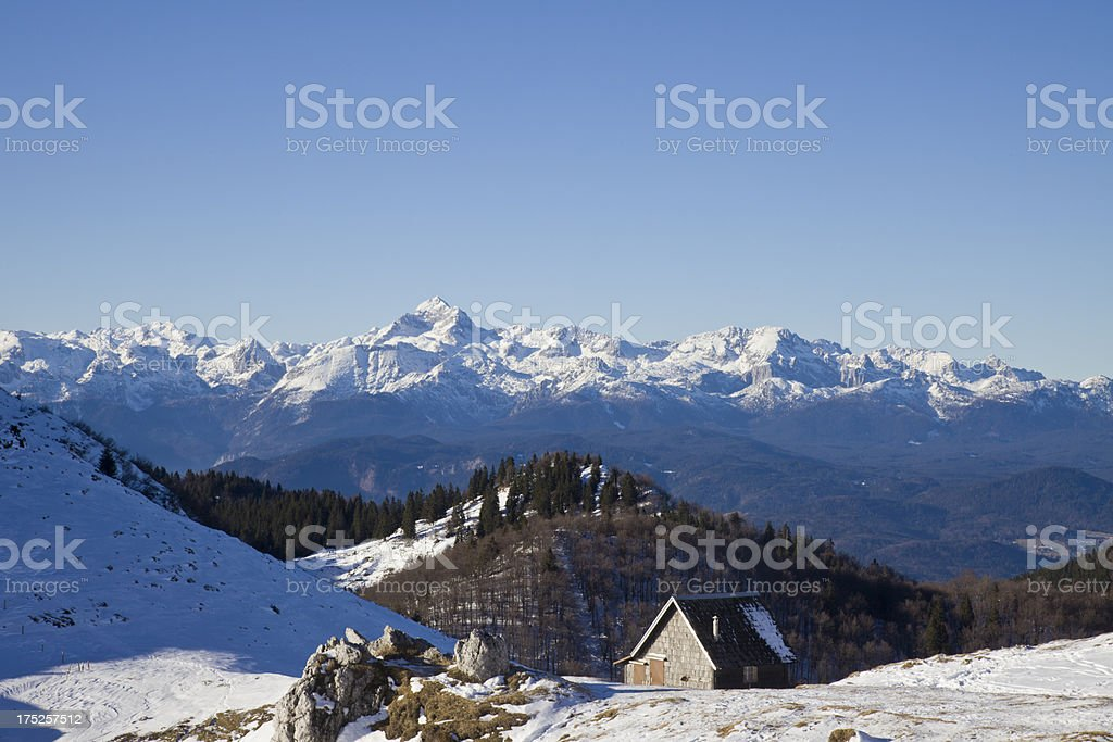 Julian Alps,Triglav royalty-free stock photo