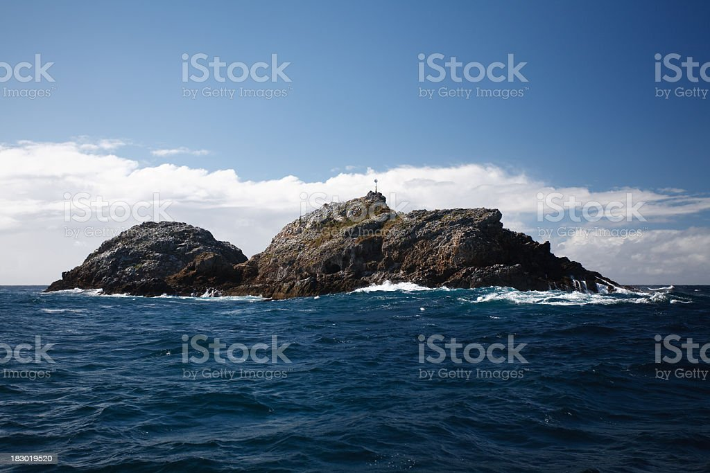 Julian Rocks at Byron Bay stock photo