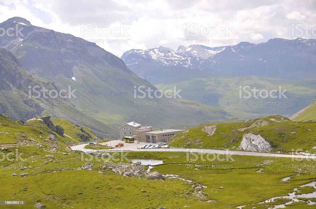 Julierpass Switzerland royalty-free stock photo