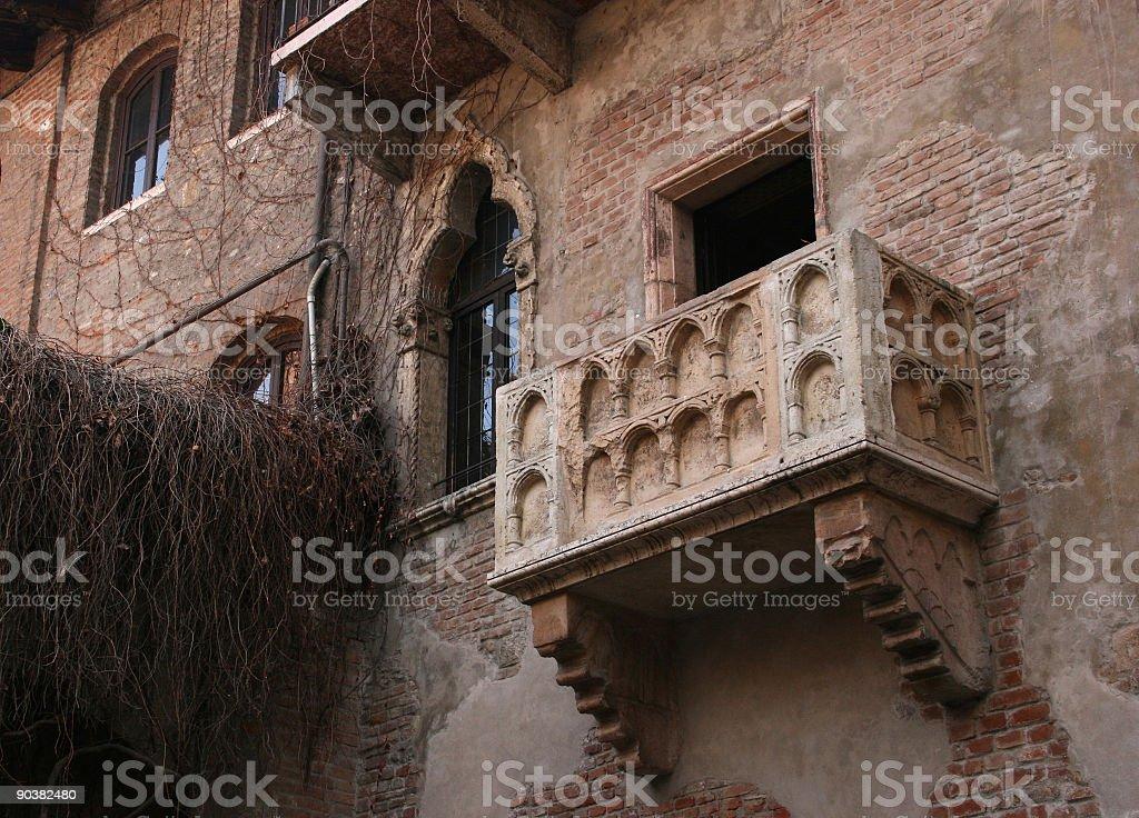 Juliet balcony royalty-free stock photo