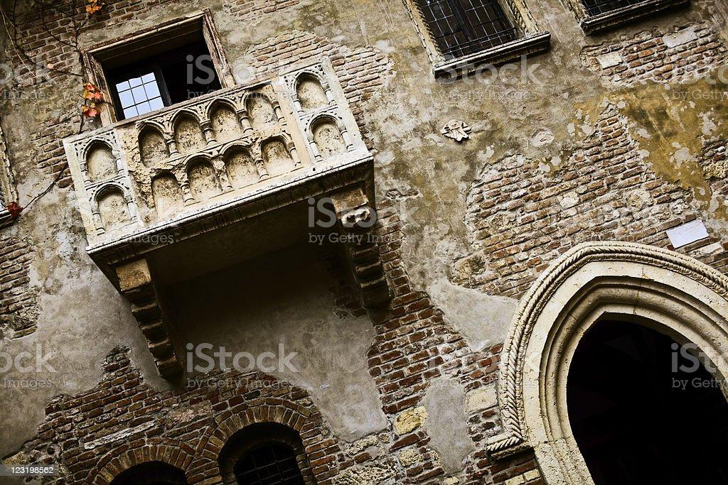 Juliet's Balcony royalty-free stock photo