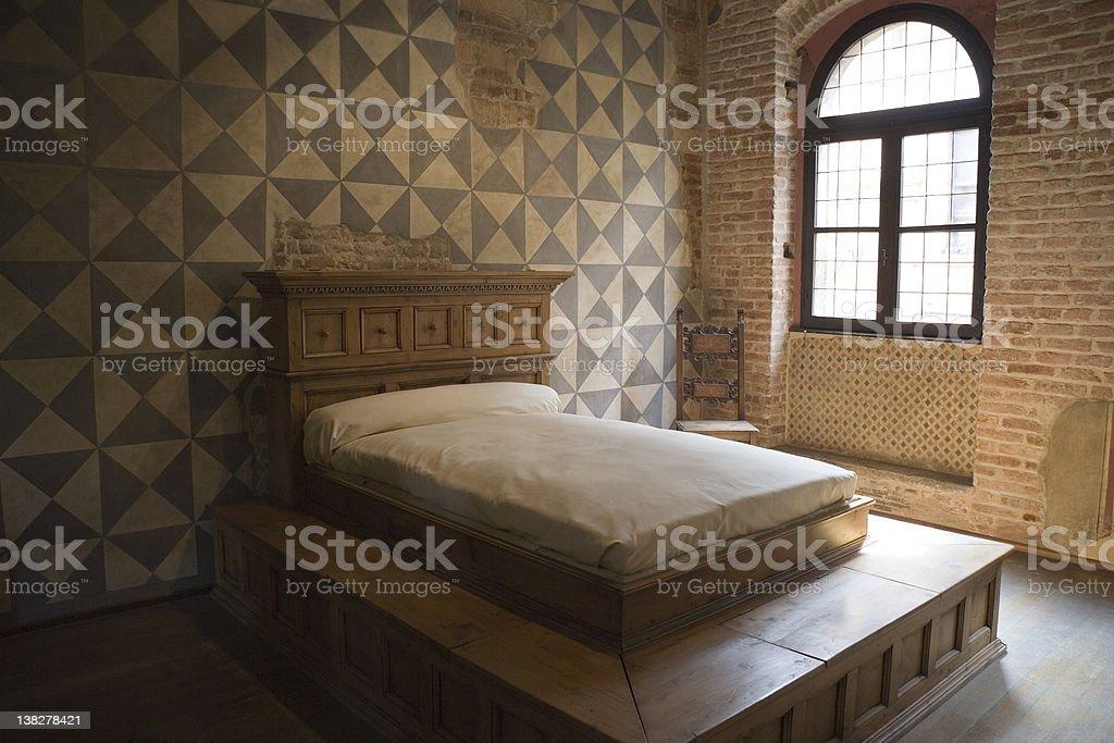 Juliets Bedroom stock photo