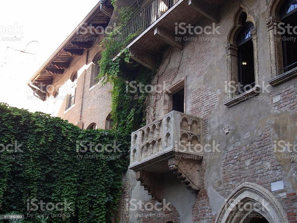 Juliet's House (Casa di Giulietta) stock photo